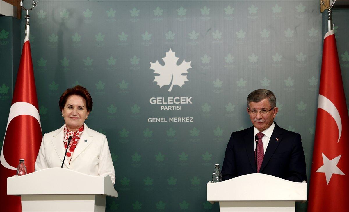 Meral Akşener den Ahmet Davutoğlu na ziyaret #2