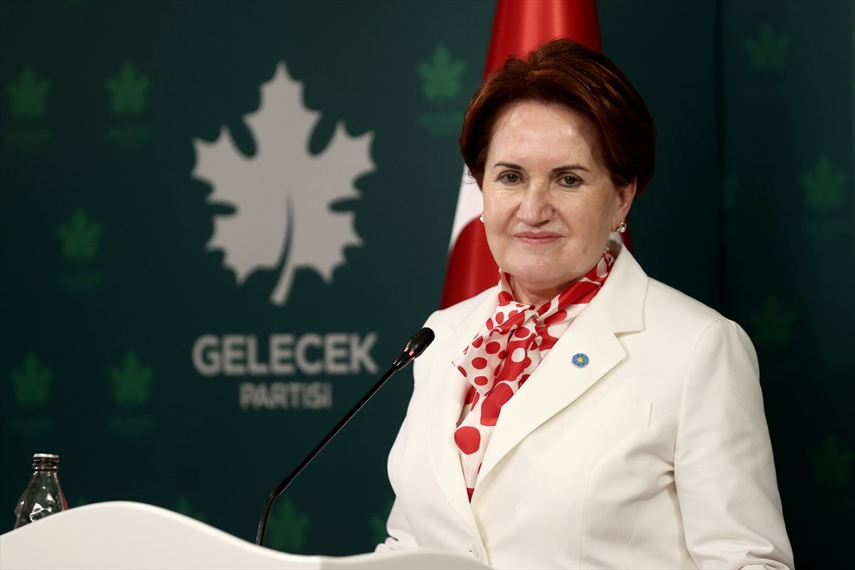 Meral Akşener den Ahmet Davutoğlu na ziyaret #3