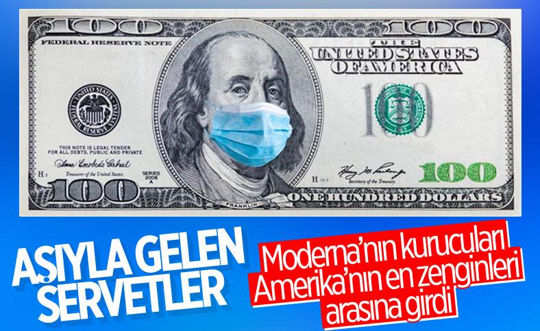 Moderna'nın kurucuları en zenginler listesine girdi