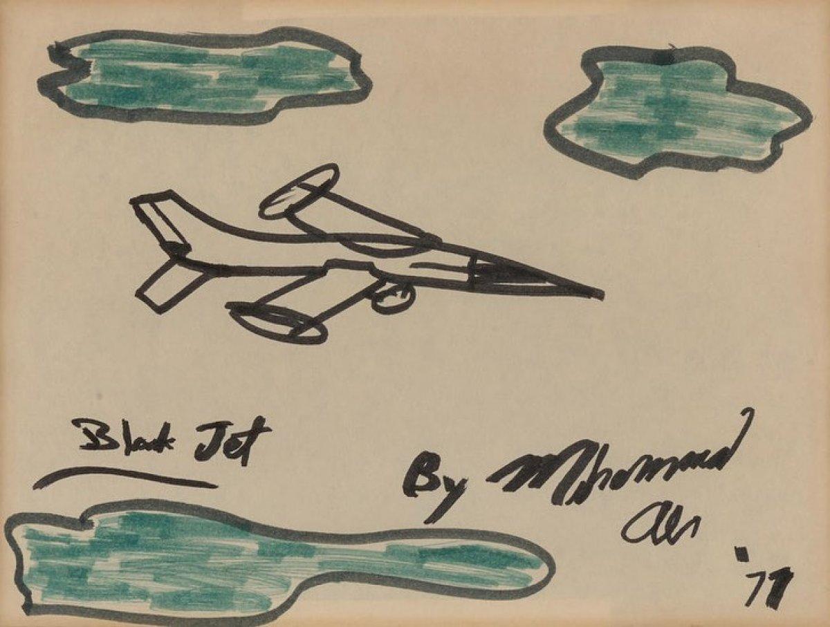 Muhammed Ali'nin resimleri 1 milyon dolara satıldı #4