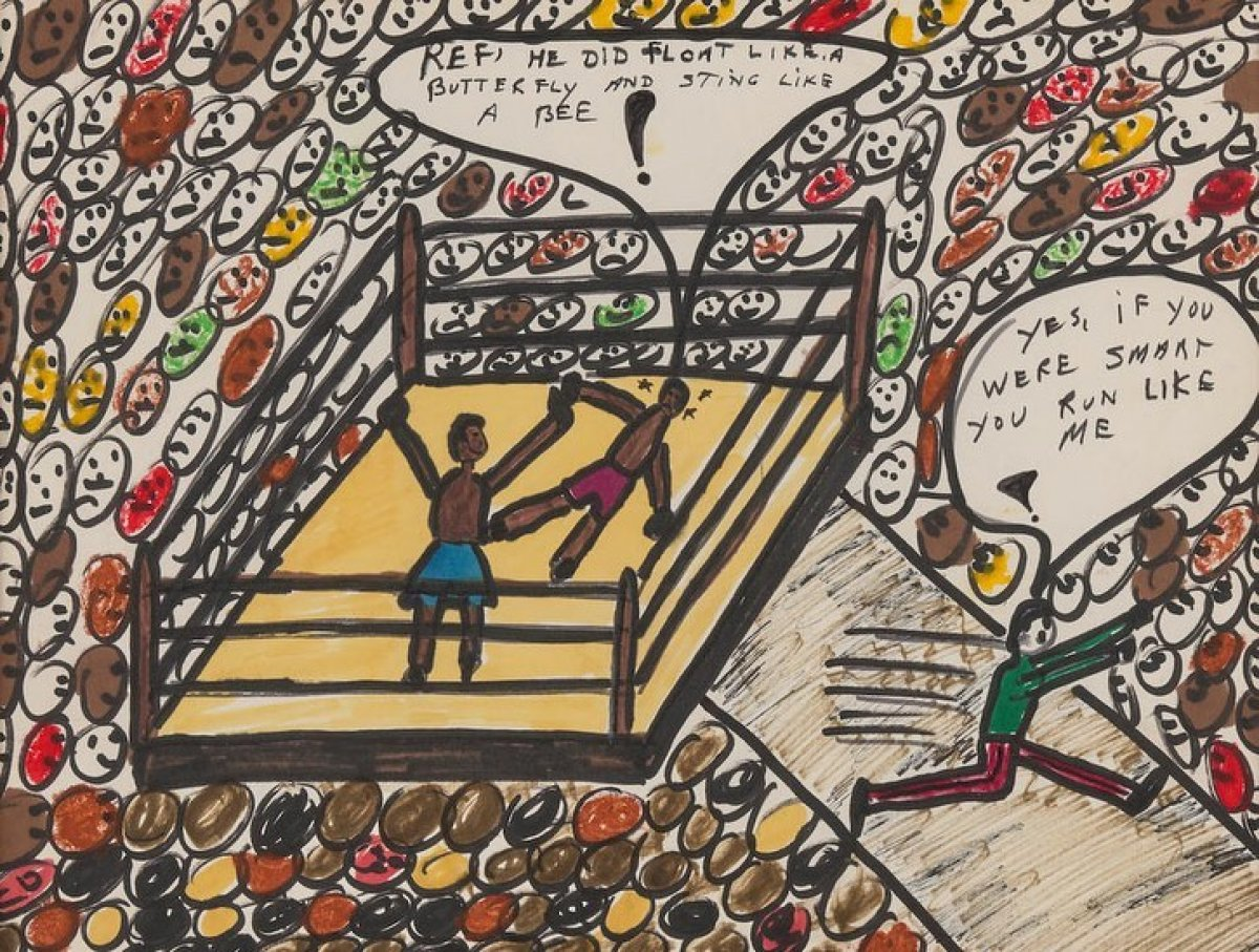 Muhammed Ali'nin resimleri 1 milyon dolara satıldı #2