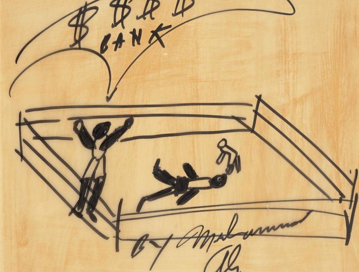 Muhammed Ali'nin resimleri 1 milyon dolara satıldı #6