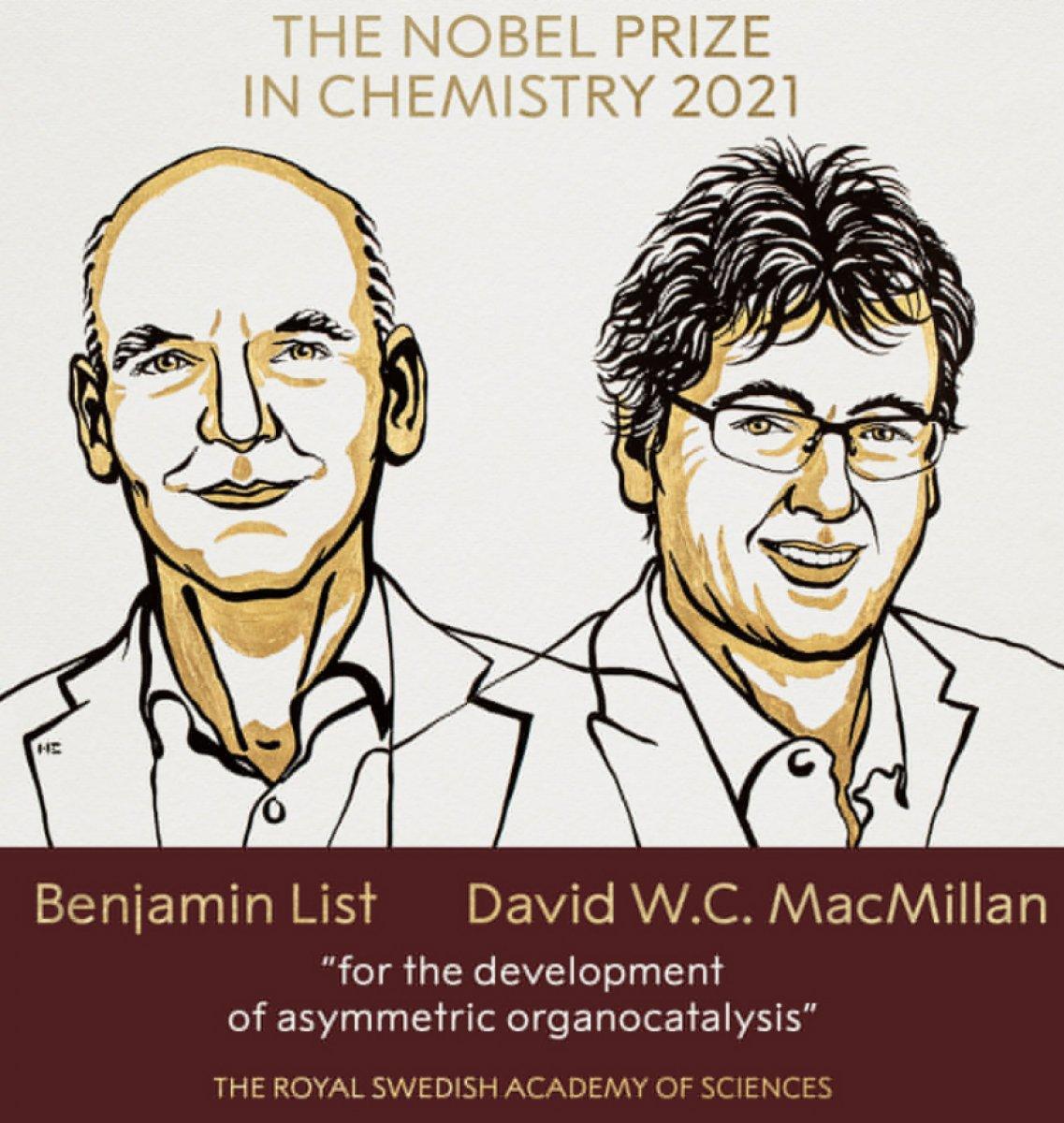 2021 Nobel Kimya Ödülü sahiplerini buldu #1