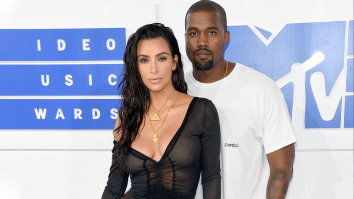 Kim Kardashian ve Kanye West boşanmayı beklemeye aldı #1