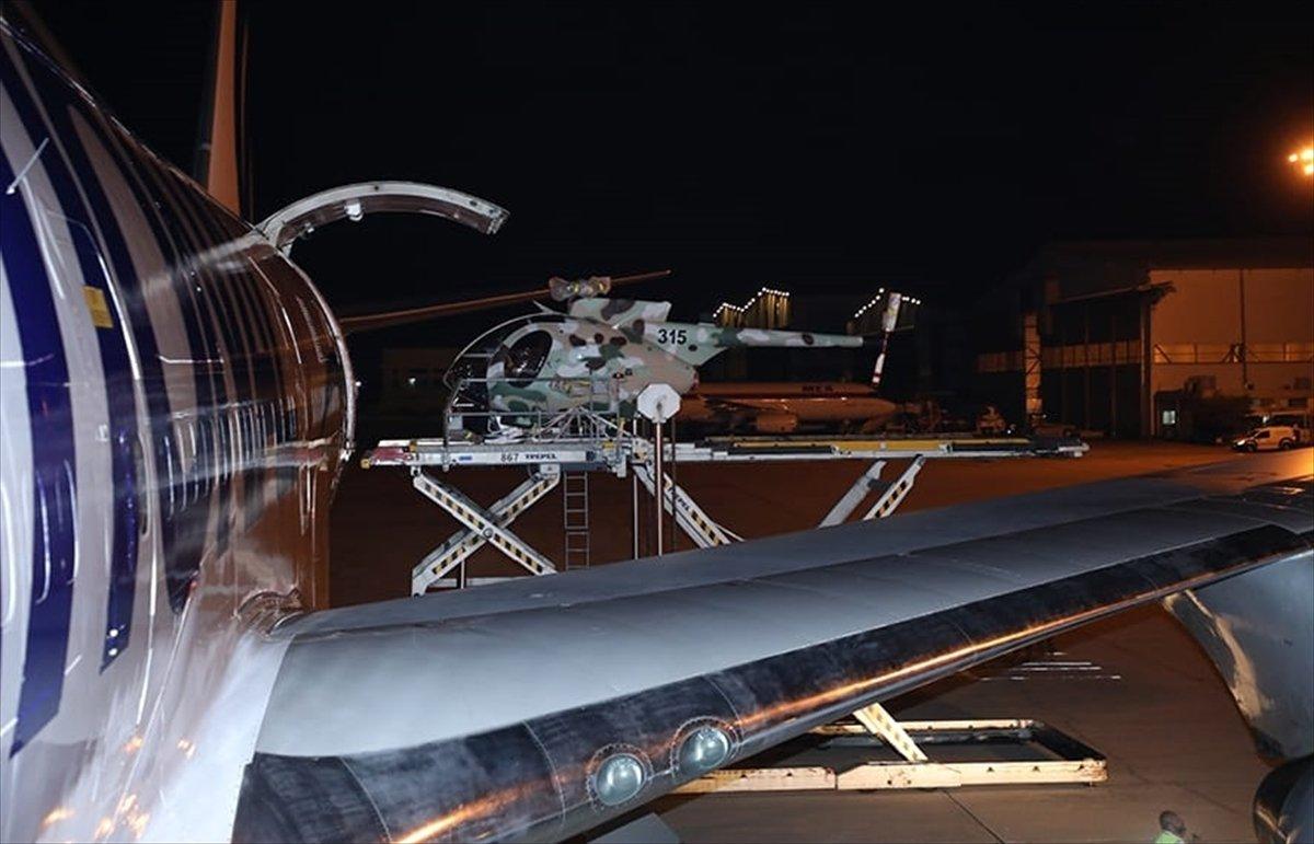 Lübnan ordusuna ABD den ikinci kez helikopter hibe edildi  #4