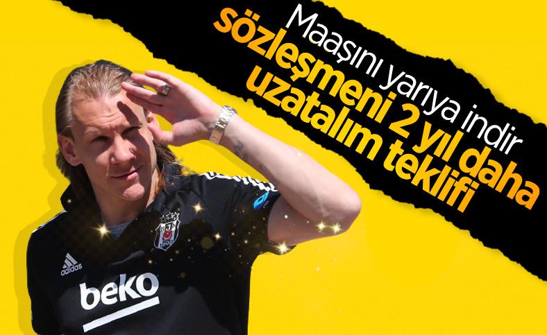 Domagoj Vida'ya 2 yıllık yeni sözleşme teklifi