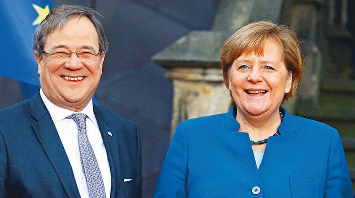 Almanya da seçimi kaybeden Armin Laschet istifa etti #1