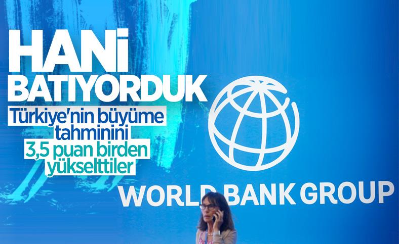 Dünya Bankası, Türkiye'nin 2021 büyüme tahminini artırdı