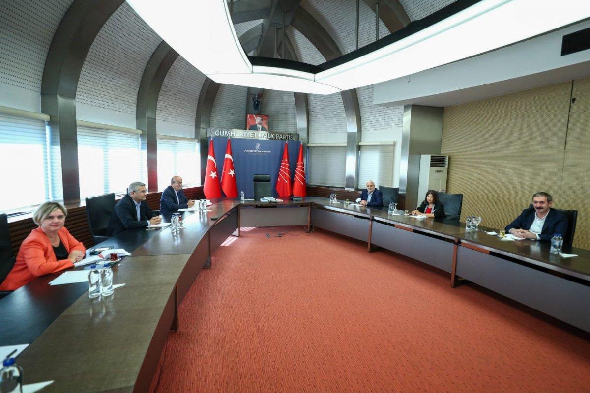 HDP heyeti, Demokrasi Tutum Belgesi'ni CHP ye sundu #1