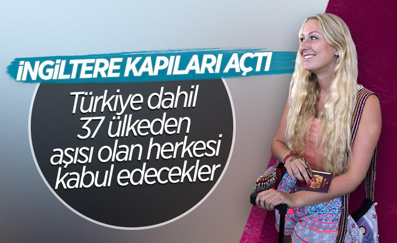 İngiltere, tam aşı olmuş Türk yolcuları ülkeye alacak