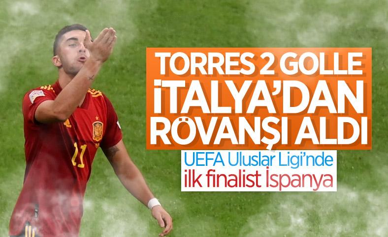 İtalya'yı yenen İspanya, UEFA Uluslar Ligi'nde finalde