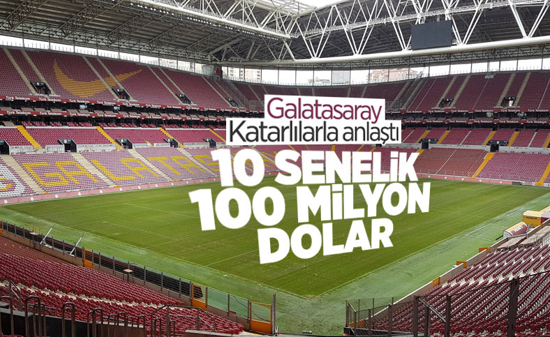 Galatasaray'a Katarlı stat sponsoru