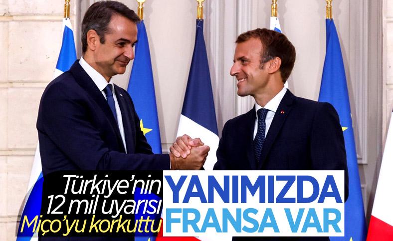 Kiryakos Miçotakis: Türkiye saldırırsa Fransa yardımımıza koşacak