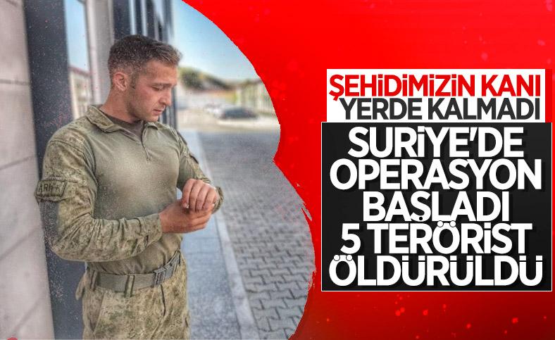 Hulusi Akar: 5 terörist, silahlarıyla birlikte ölü ele geçirildi