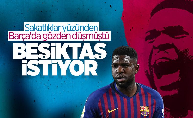 Beşiktaş'ta Samuel Umtiti sesleri