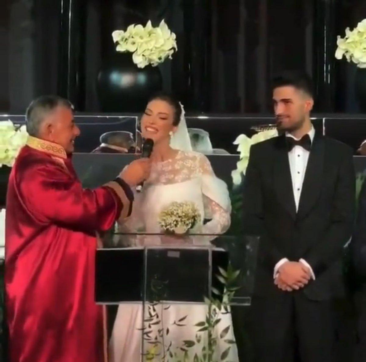 İdo Tatlıses, Yasemin Şefkatli ile evlendi #1