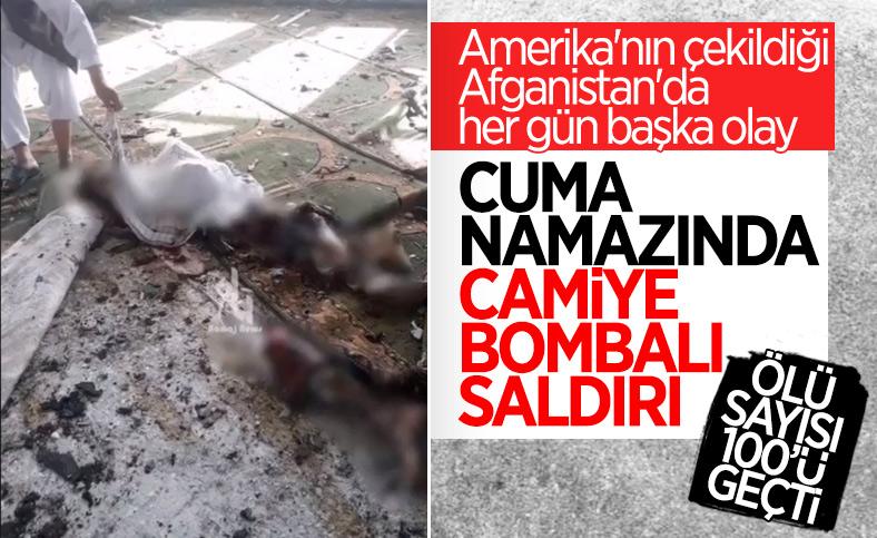 Afganistan'da camiye bombalı saldırı: Ölü ve yaralılar var