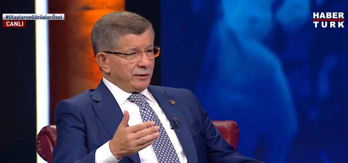 Ahmet Davutoğlu ndan ittifak açıklaması #3