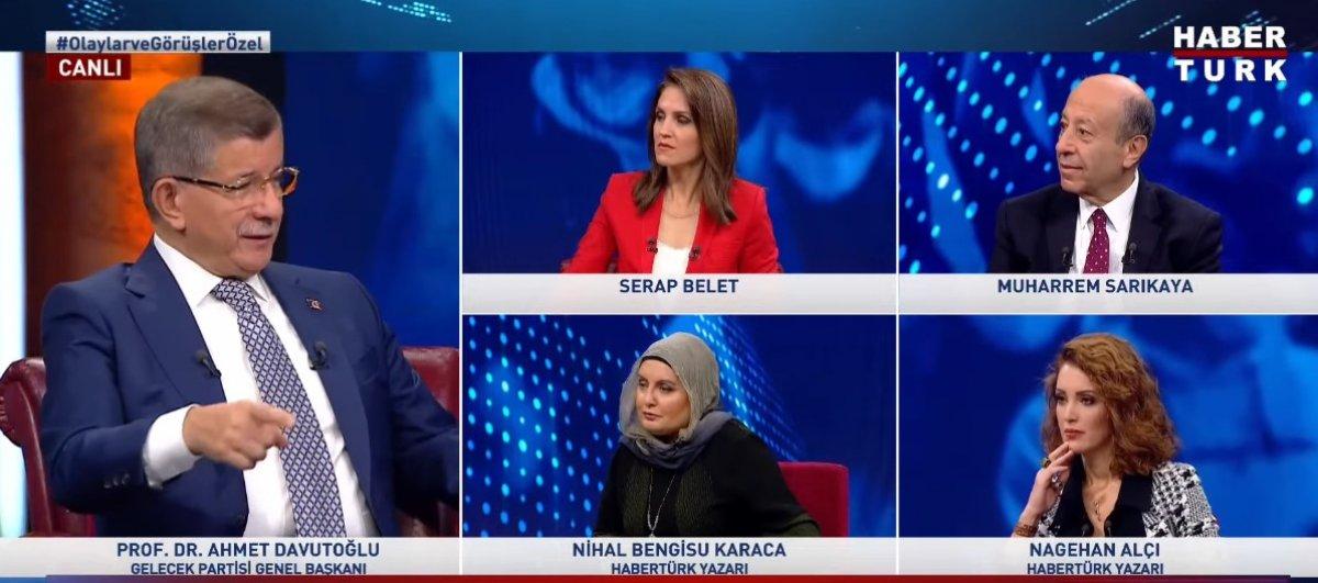 Ahmet Davutoğlu ndan ittifak açıklaması #2