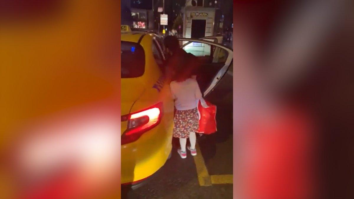 İstanbul da bir taksi şoförü  karşının taksisiyim  diyerek yolcuyu almadı  #1