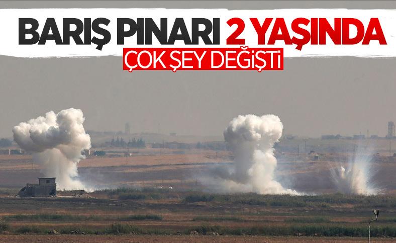 Barış Pınarı Harekatı'nın üzerinden 2 yıl geçti