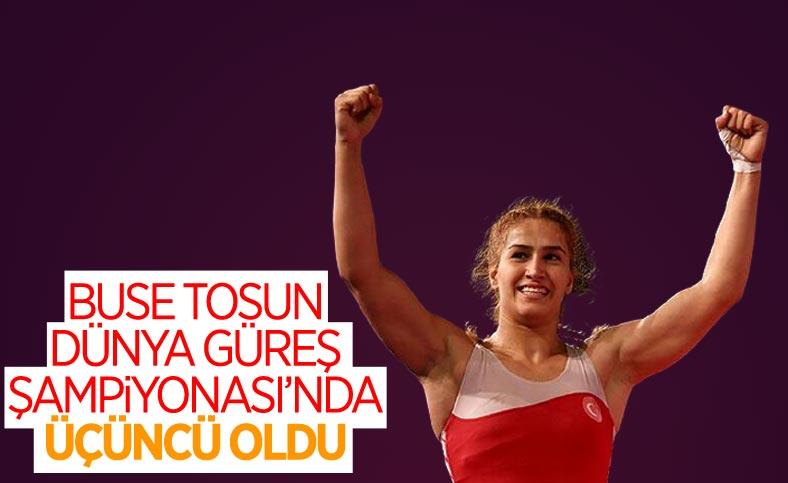 Buse Tosun dünya üçüncüsü oldu