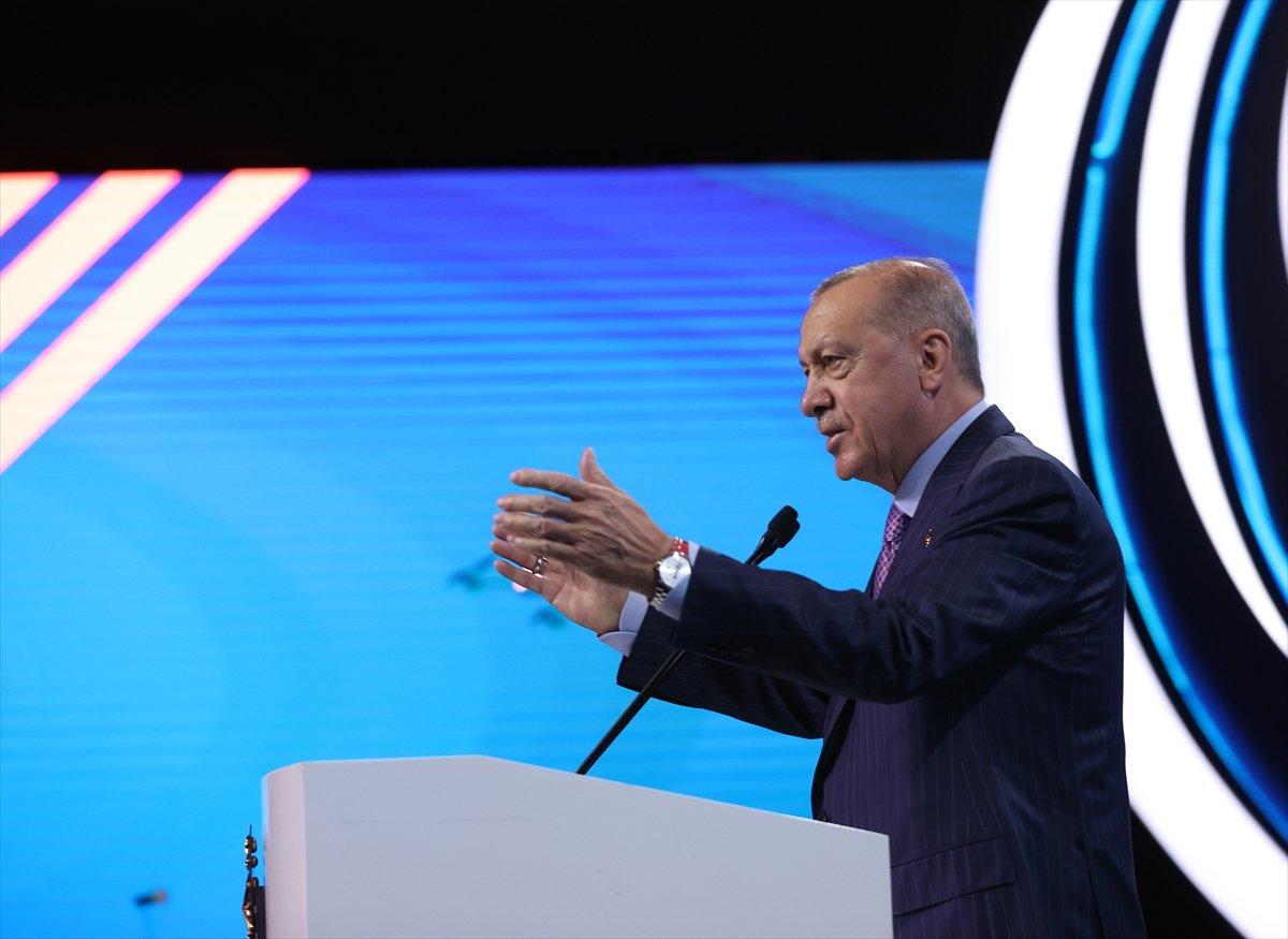 Cumhurbaşkanı Erdoğan'ın 12. Ulaştırma ve Haberleşme Şurası konuşması #3