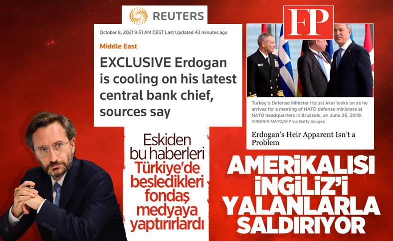 Fahrettin Altun, Reuters ve Foreign Policy'yi yalanladı