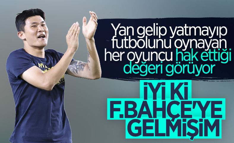 Kim Min-Jae: İyi ki Fenerbahçe'ye geldim