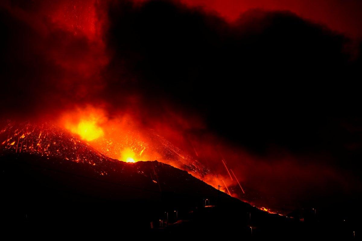 La Palma da lavlar 431 hektarlık alanı kapladı #5