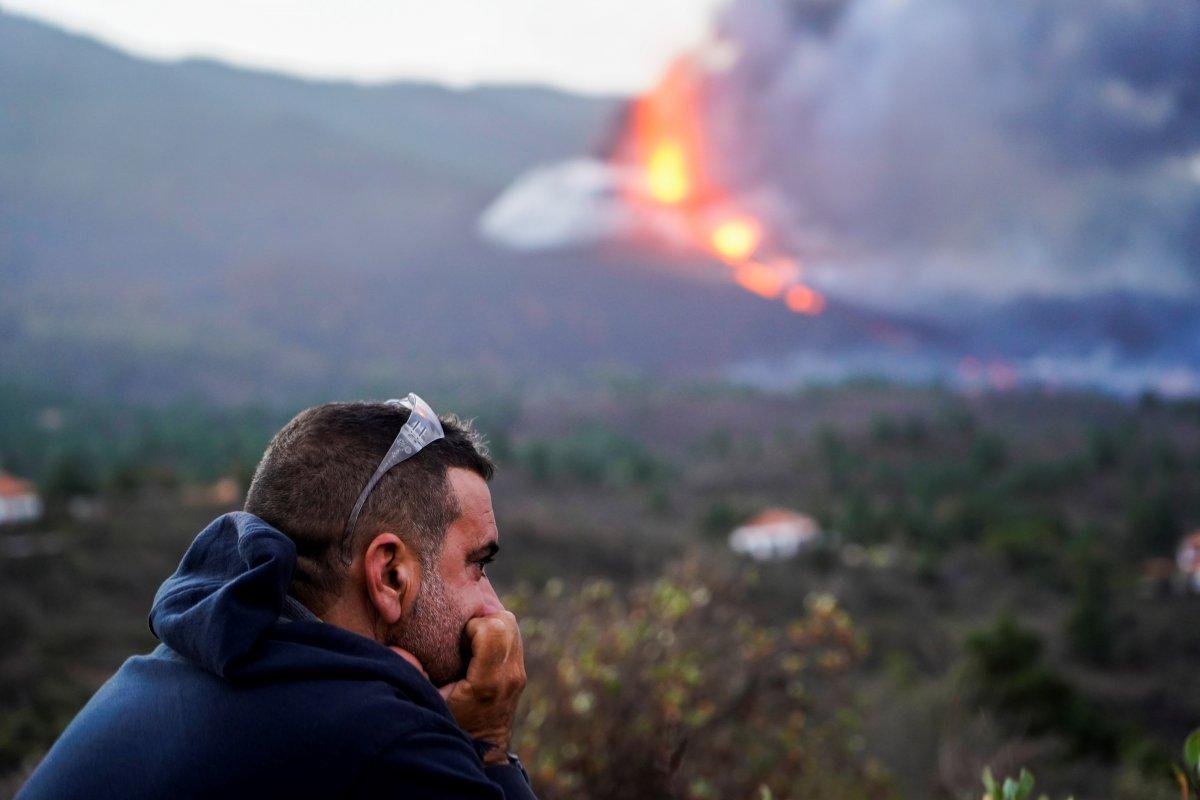 La Palma da lavlar 431 hektarlık alanı kapladı #1