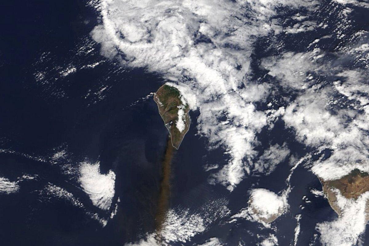 La Palma da lavlar 431 hektarlık alanı kapladı #7