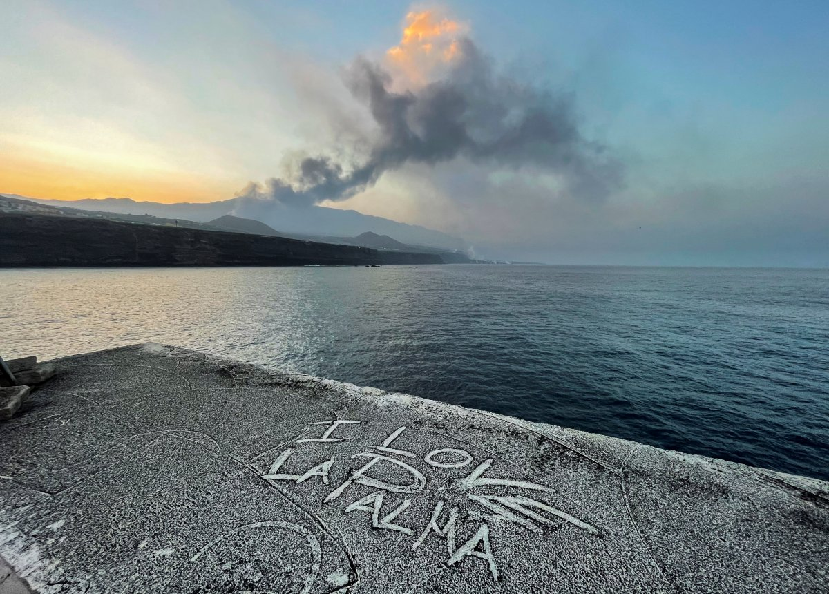 La Palma da lavlar 431 hektarlık alanı kapladı #2