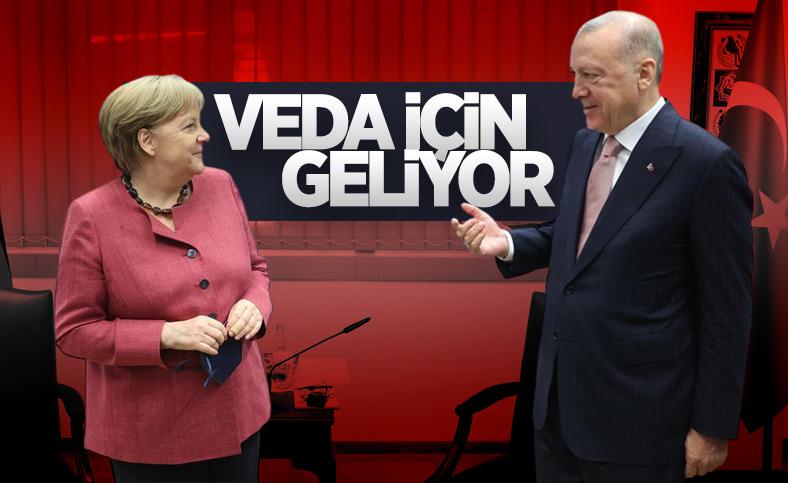 Angela Merkel, 16 Ekim'de Türkiye'ye gelecek