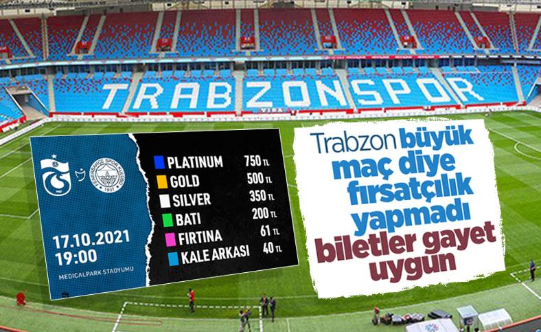 Trabzonspor-Fenerbahçe maçının biletleri satışta