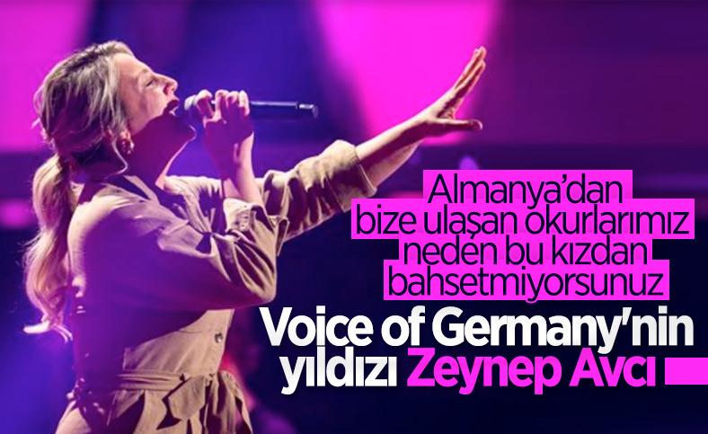 O Ses Almanya'da Türkçe şarkı söyleyen Zeynep Avcı, yarışmaya damga vurdu