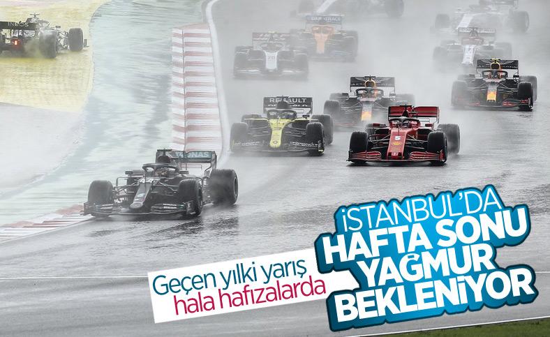 İstanbul Grand Prix'inde yağmur bekleniyor