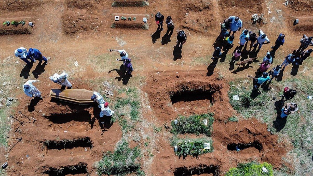 Brezilya da koronadan ölenlerin sayısı 600 bini geçti #4