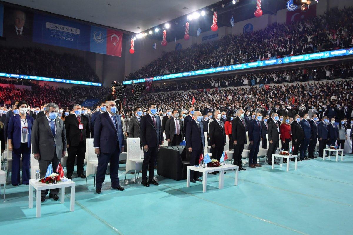 Devlet Bahçeli nin Türk Gençliği Büyük Kurultayı konuşması #6