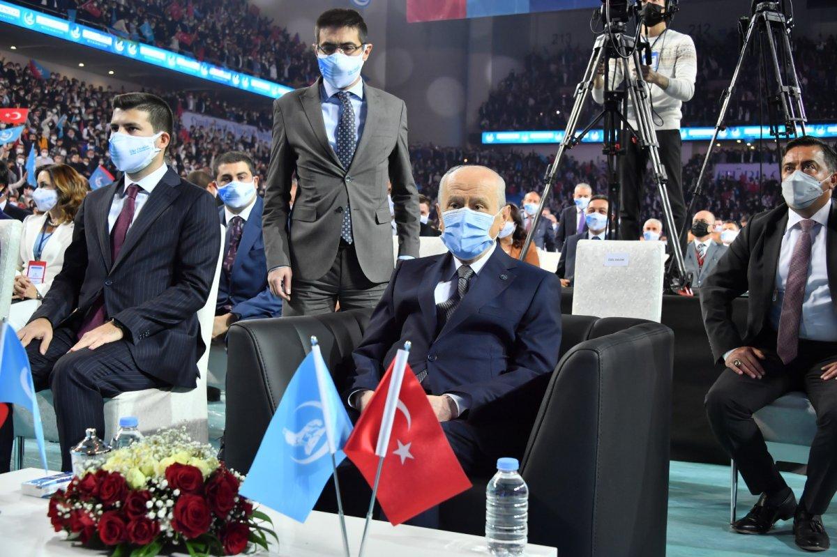 Devlet Bahçeli nin Türk Gençliği Büyük Kurultayı konuşması #4