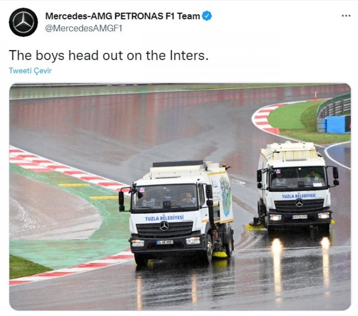 Mercedes in belediye aracı paylaşımı #3
