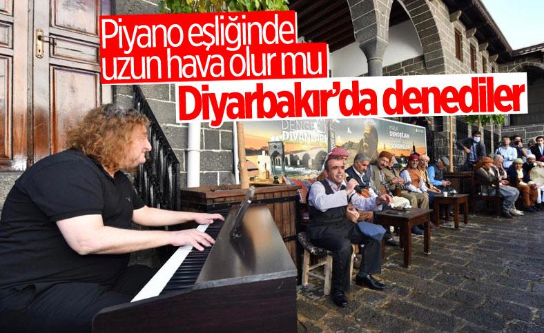 Diyarbakır'da piyano eşliğinde uzun hava denemesi
