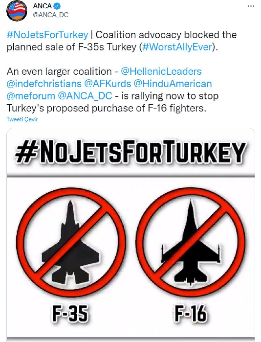 Türkiye nin ABD den istediği F-16 lara karşı Ermenistan harekete geçti #3