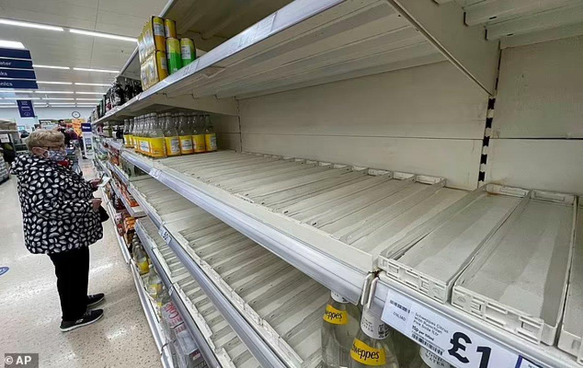 İngiliz halkı, temel gıdaları satın almakta zorluk yaşıyor #1