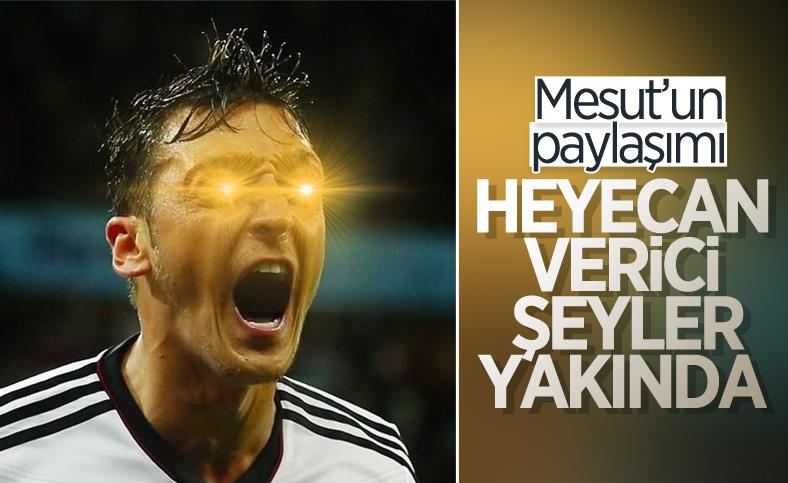 Mesut Özil'den merak uyandıran paylaşım