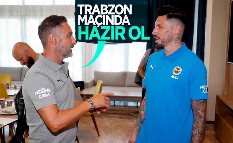 Fenerbahçe'de Jose Sosa seferberliği