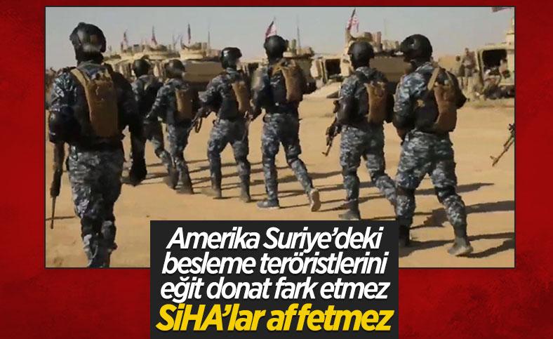 ABD, Suriye'de PKK'lılara verdiği eğitime devam ediyor