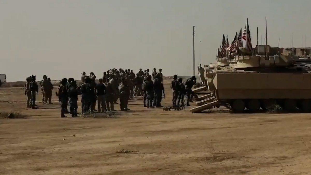 ABD, Suriye de PKK lılara verdiği eğitime devam ediyor #3