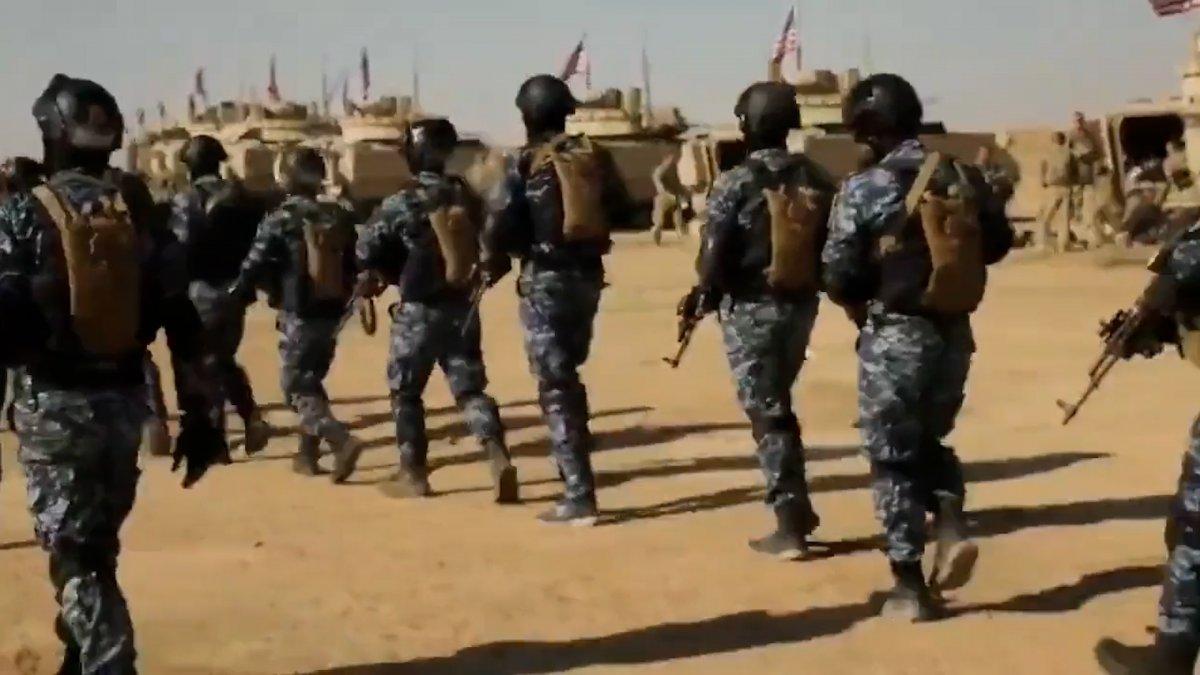 ABD, Suriye de PKK lılara verdiği eğitime devam ediyor #2
