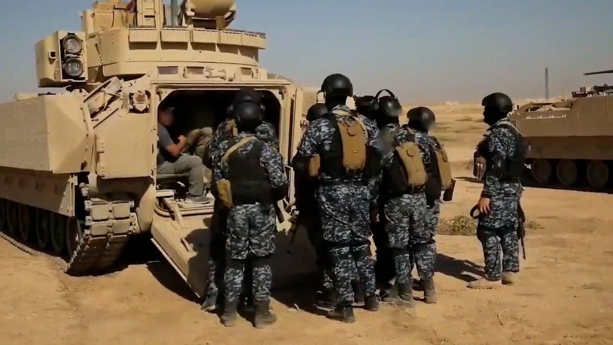 ABD, Suriye de PKK lılara verdiği eğitime devam ediyor #1